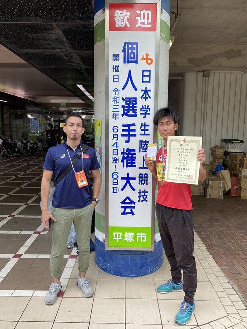 2021日本学生陸上競技個人選手権大会(早川)