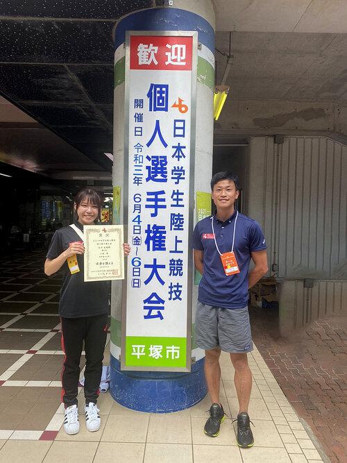 2021日本学生陸上競技個人選手権大会(小林)