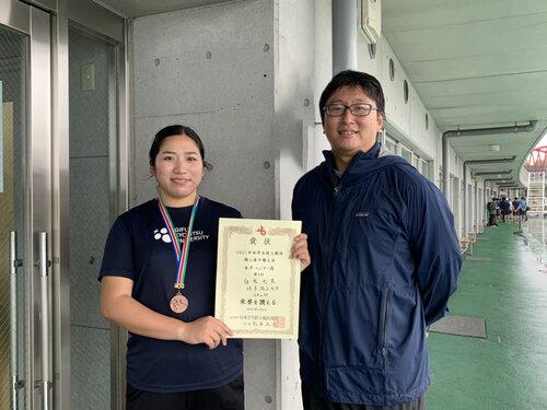 2021日本学生陸上競技個人選手権大会(白木)
